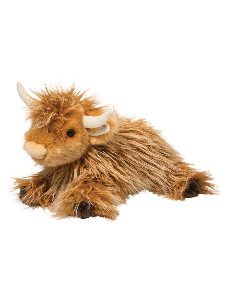 "Douglas Cuddle Toys DLux Wallace Highland Cow 16"""