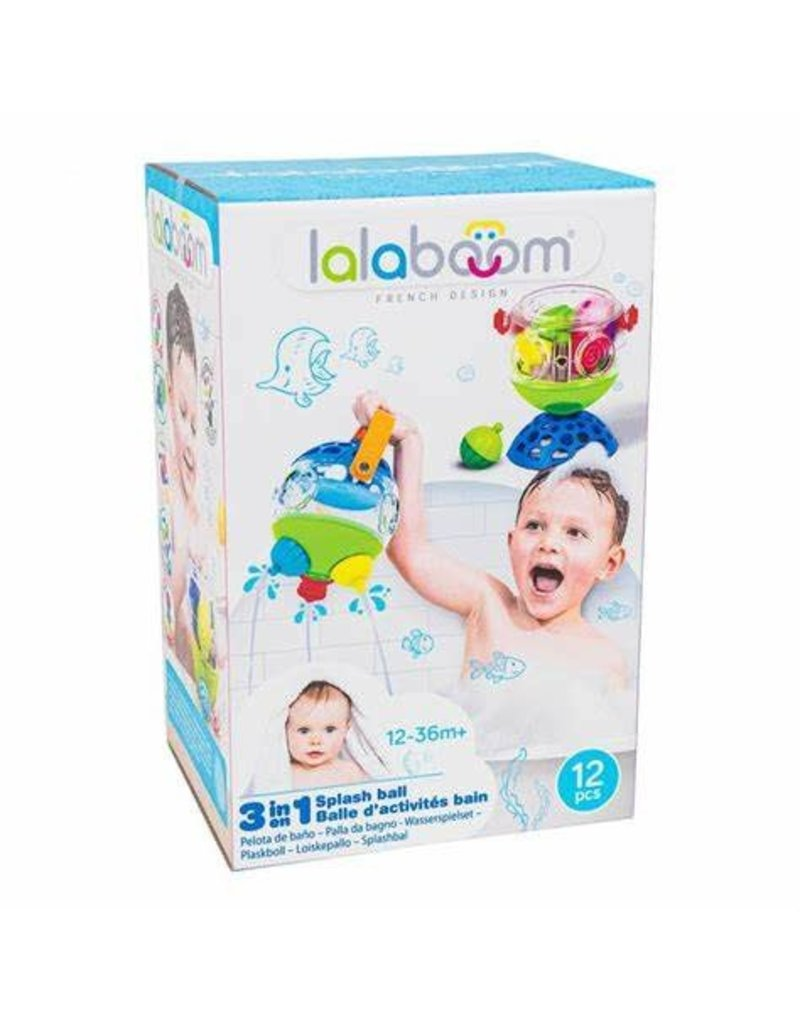 lalaboom Lalaboom 3 in 1 Splash Ball