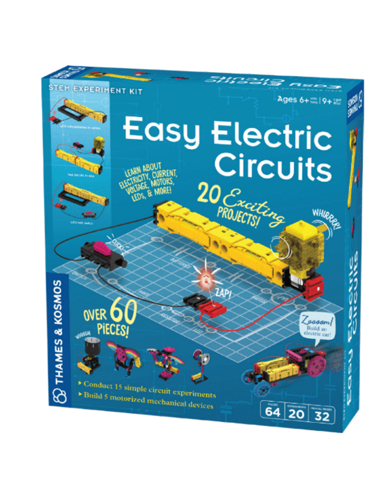 Thames & Kosmos Easy Electric Circuits 8+