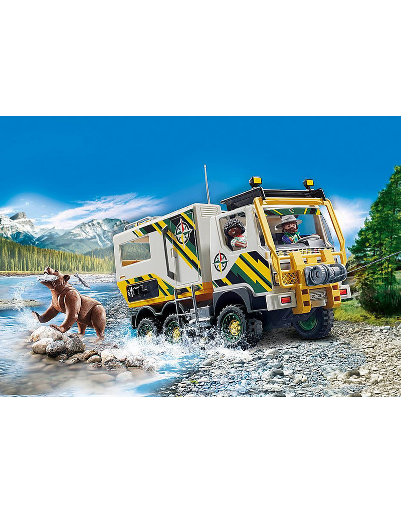 Playmobil Outdoor Expedition Truck 4+