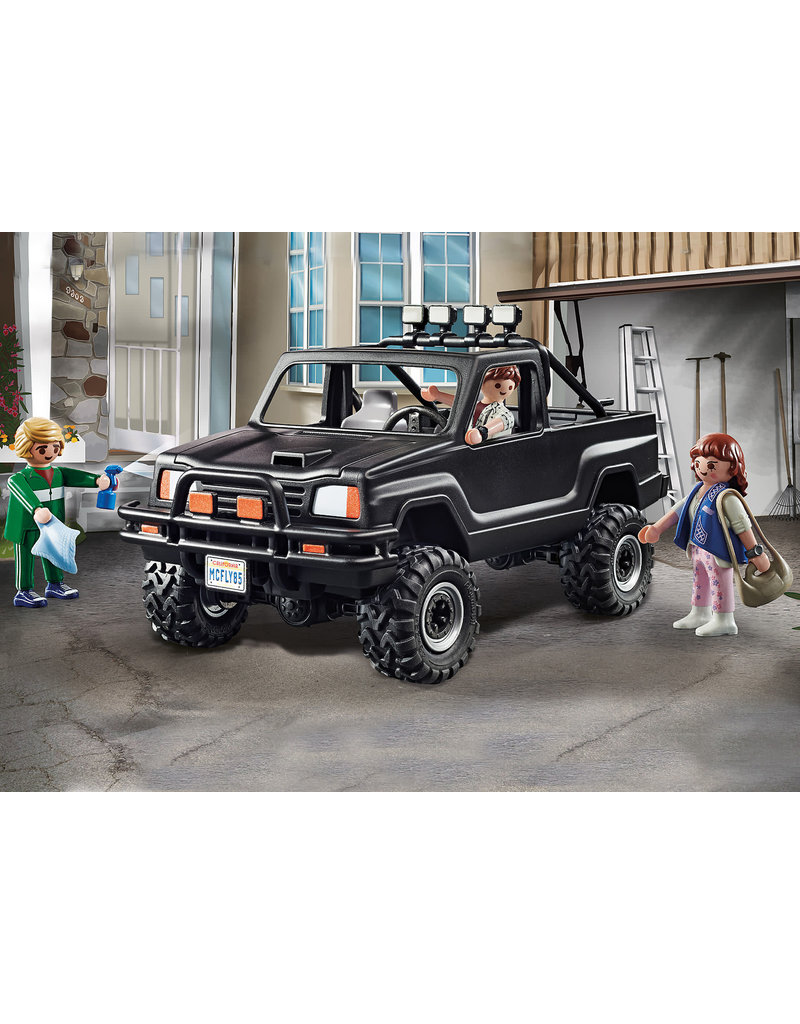 Playmobil Back to the Future Marty's Pickup Truck 5+