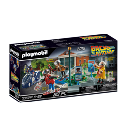 Playmobil Back to the Future Part II Hoverboard Chase 5+