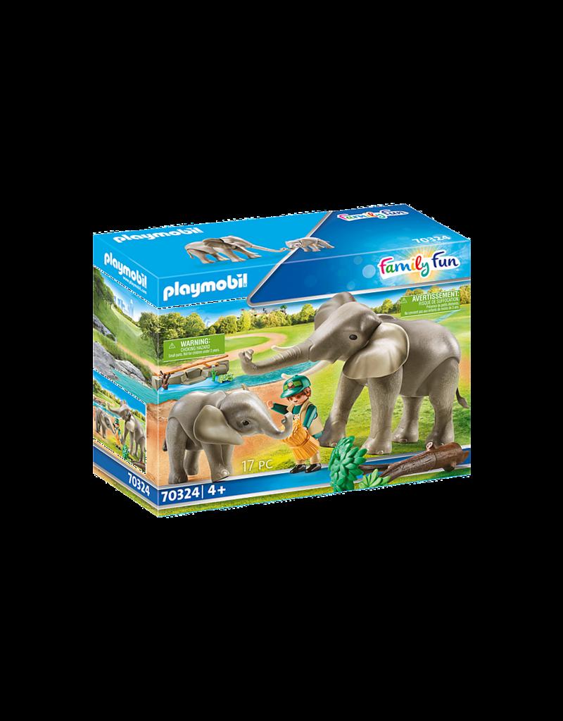 Playmobil Elephant Habitat 4+