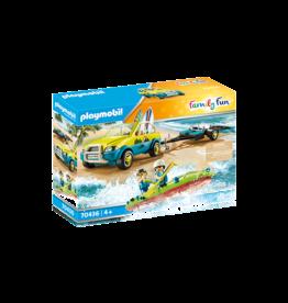 Playmobil Beach Car with Canoe 4+