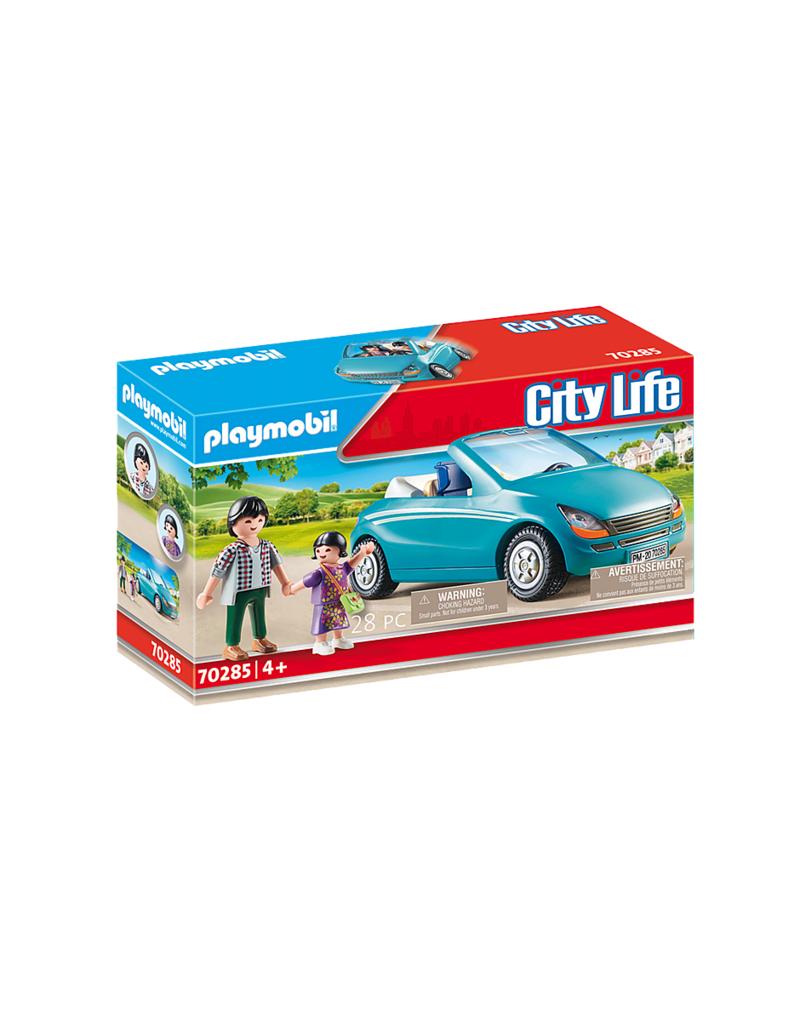 Playmobil Family with Car 4+