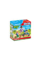 Playmobil Mother with Children 4+