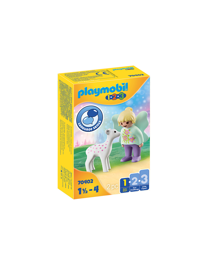 Playmobil Fairy Friend with Fawn 18m+