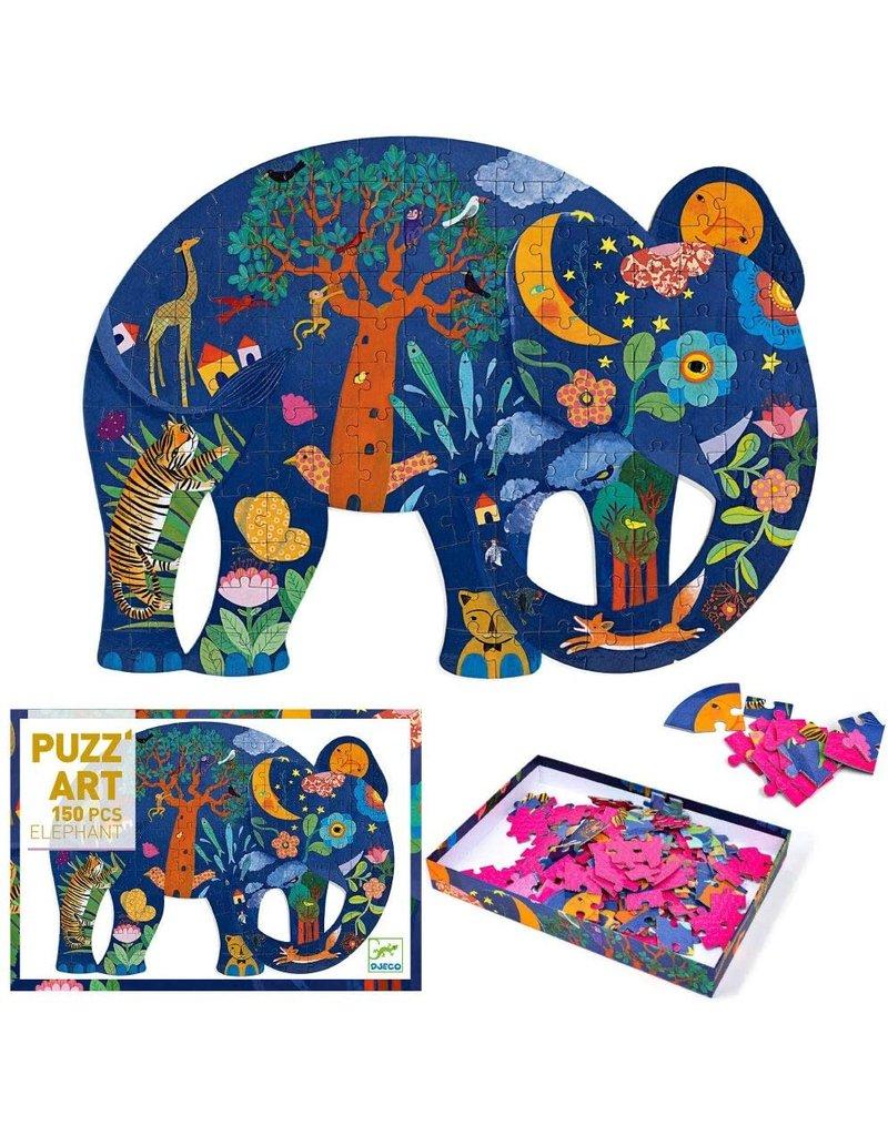 Djeco Djeco Puzz' Art Elephant 150 pcs