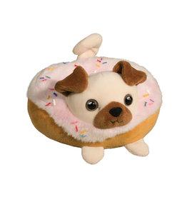 Douglas Cuddle Toys Pug Donut Macaroon