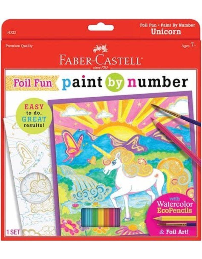 Paint by Number Unicorn Foil
