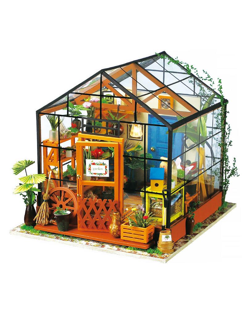 Hands Craft DIY Miniature: Cathy's Flower House 14+