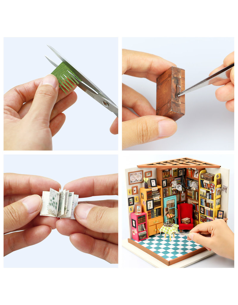 Hands Craft DIY Miniature: Sam's Study