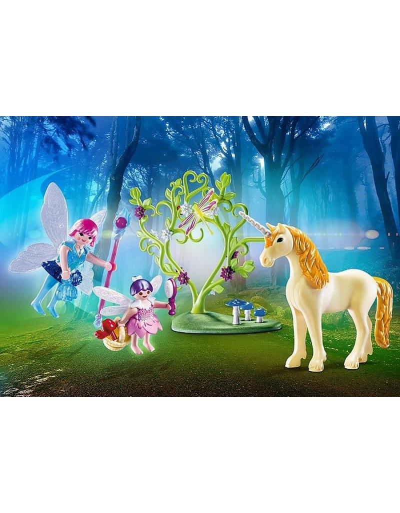 Playmobil Playmobil Carry Case Fairy Unicorn 4+