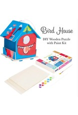 DIY 3D Wooden Birdhouse 5+