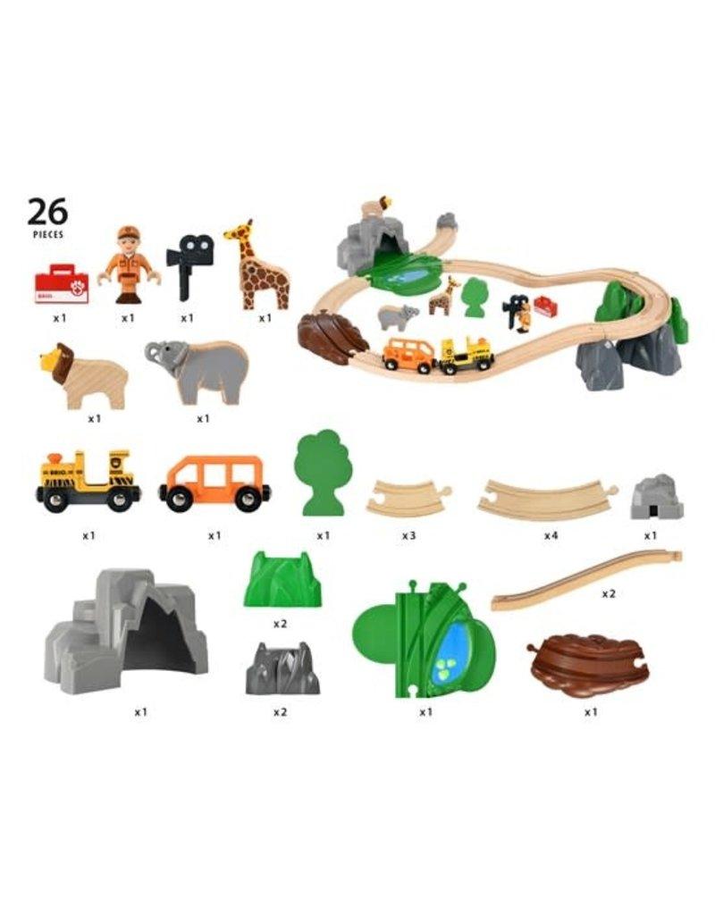 Brio Safari Adventure Set 3+