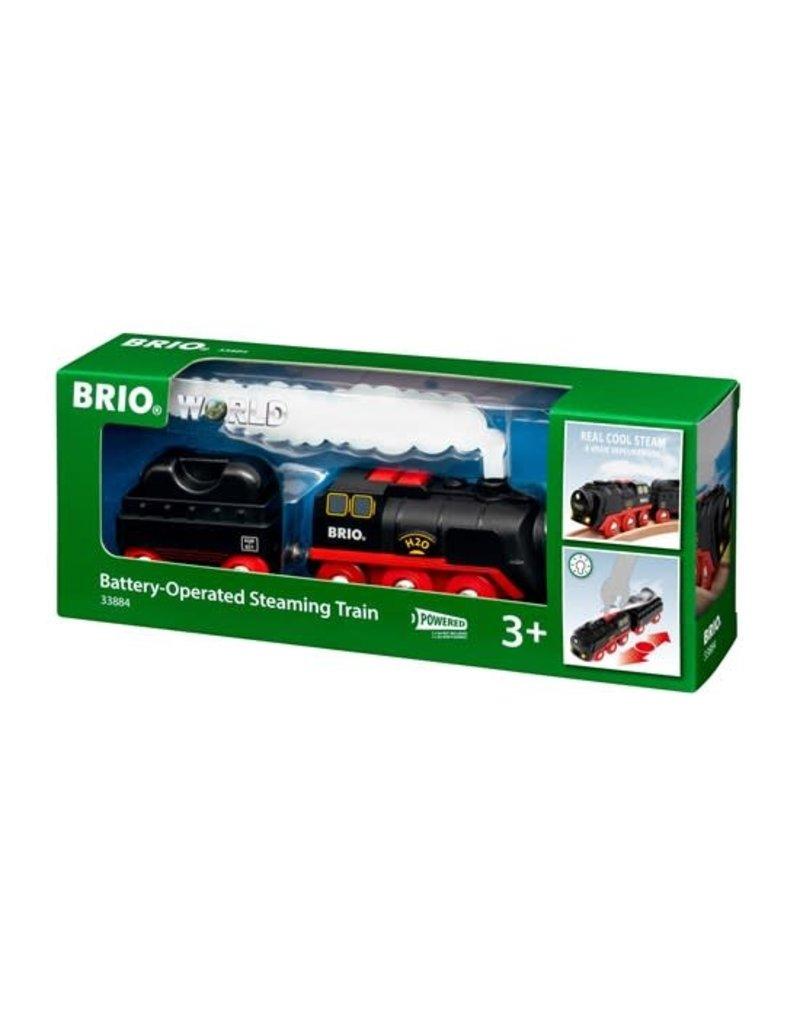 Brio Brio Battery Operated Steam Train 3+