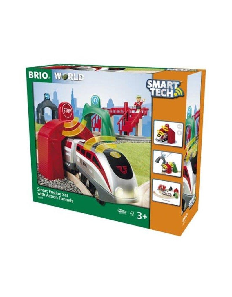 Brio Brio Smart Engine Set w Action Tunnels 3+
