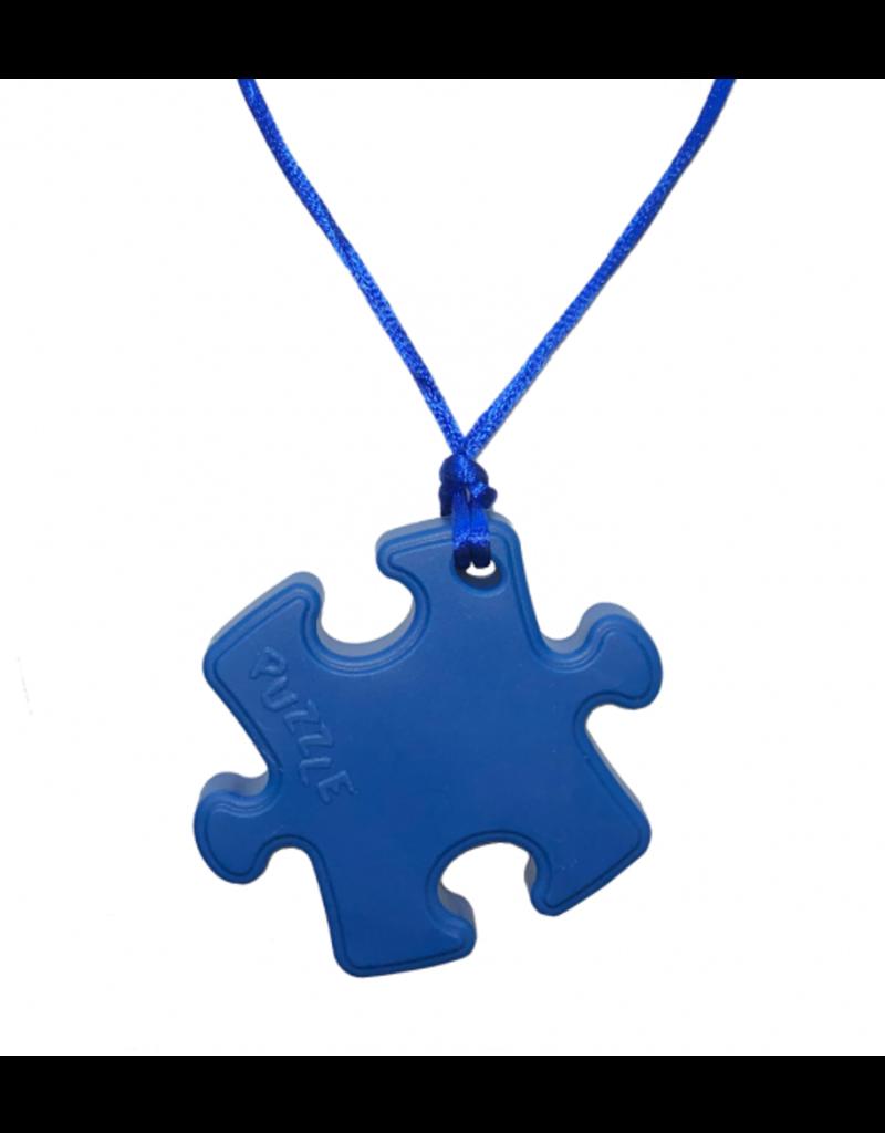 Puzzle Piece Chew Necklace 0+