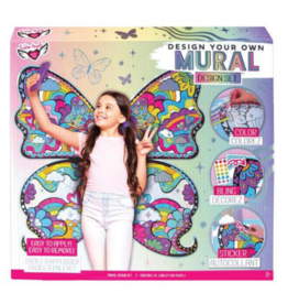 Fashion Angels DIY Mural Design Set Butterfly Wings 8+
