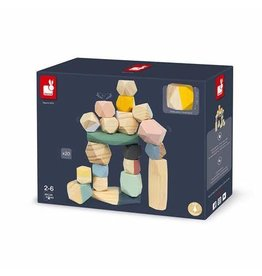 Janod Sweet Cacoon Stacking Stones 2+