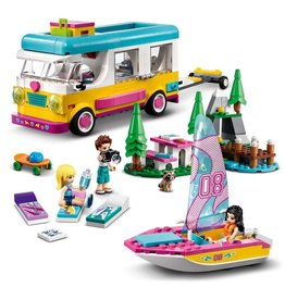 LEGO LEGO Friends Forest Camper Van and Sailboat 7+