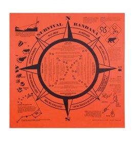 "Bandana - Survival Orange 22"""