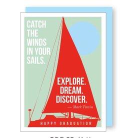 Graduation Sail Boat Quote