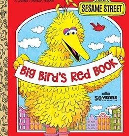 Big Bird's Red Book - Golden Book