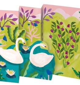 Swans tri-fold