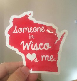 Sticker - Wisco Loves Me