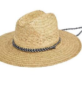 "Hat - Men's Lifeguard Straw 3.75"" brim S/M"