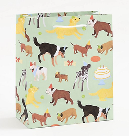 "Gift Bag - Birthday Dogs Med 8""x9.5"""