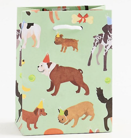 "Gift Bag - Birthday Dogs Small 4.5""x6"""