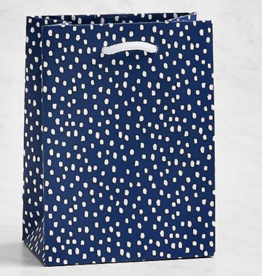 "Gift Bag - Flurry Navy Small 4.5""x6"""