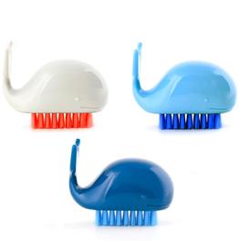 "Nail Brush - Whale 2.4"""
