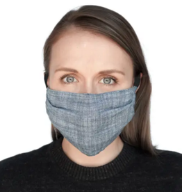 Face Mask- Indigo Chambray
