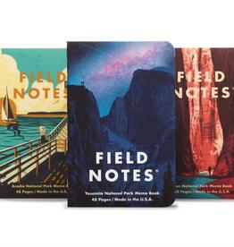 Memo Book  A - Yosemite 3-pack