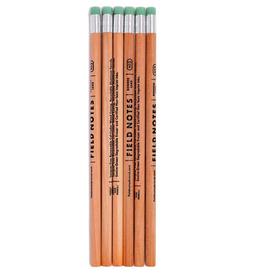 Pencil - Woodgrain 6-pack