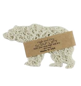 Soap dish - Bear White Bone*