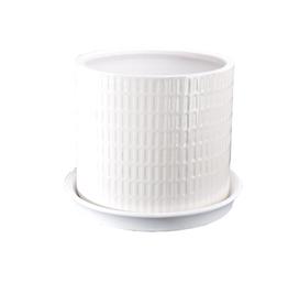 Pot - Howard Cylinder White