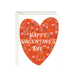 Paula & Waffle Red Valentine's Day Heart