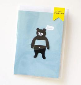 Bear Clip, Black*