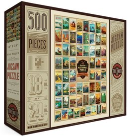 Puzzle - National Parks 500pc 100th Anny