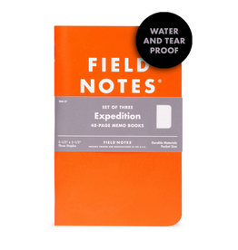 Memo Book - Expedition 3-pack
