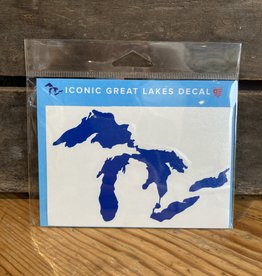 "Sticker - Great Lakes BLUE - 3""x5"""
