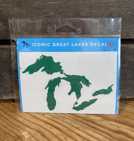 "Sticker - Great Lakes GREEN  - 3""x5""*"