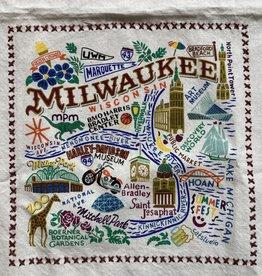 "Dishtowel - Milwaukee 20""x29"""