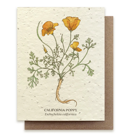 Bower Studio California Poppy Plantable