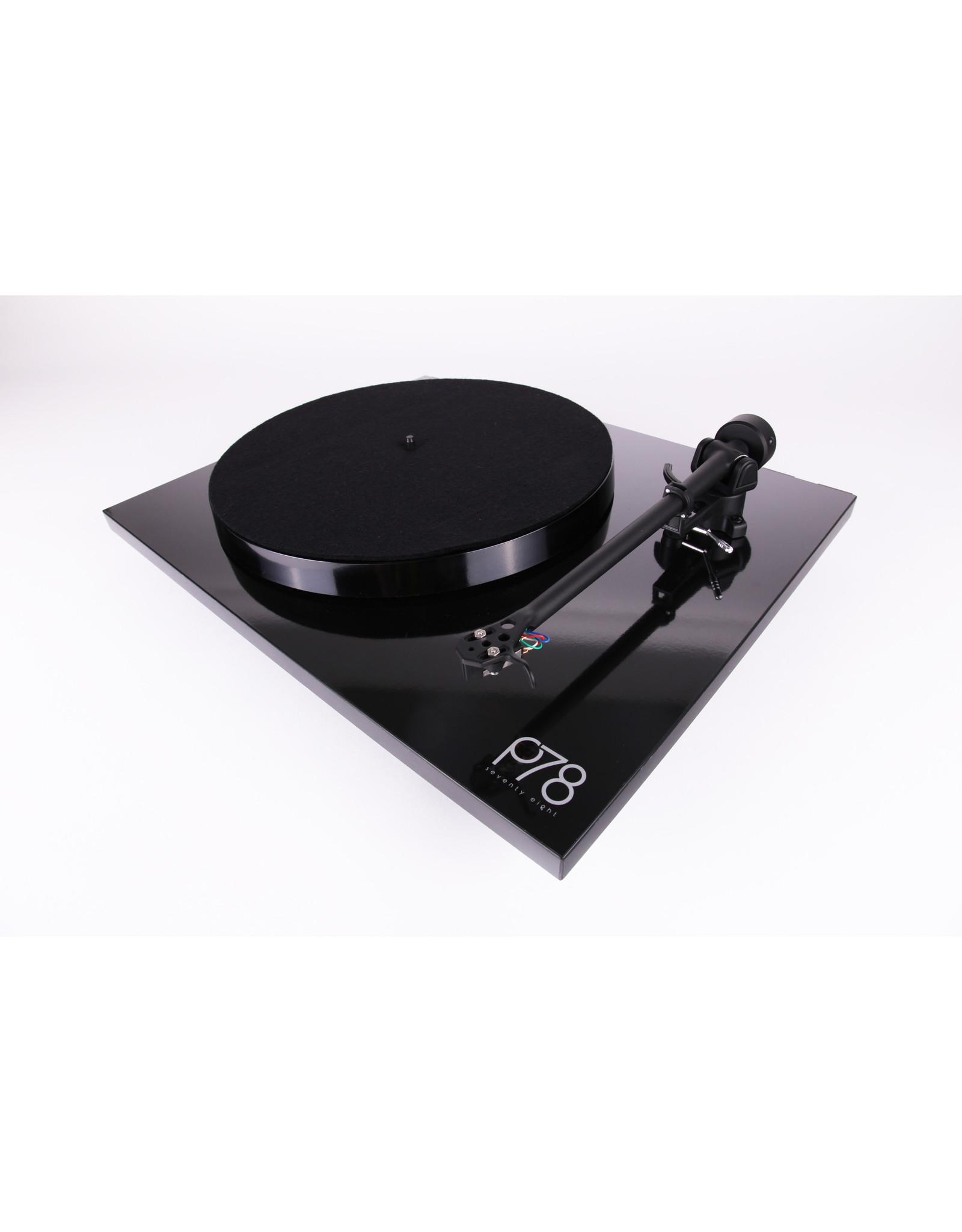 Rega Rega Planar 78 Turntable Black