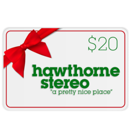 Hawthorne Stereo Gift Card for In-Store Use $20